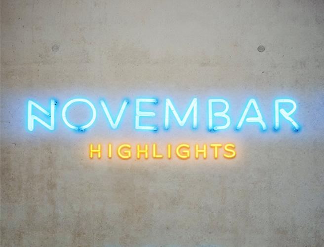 Novembar Highlights // Group show