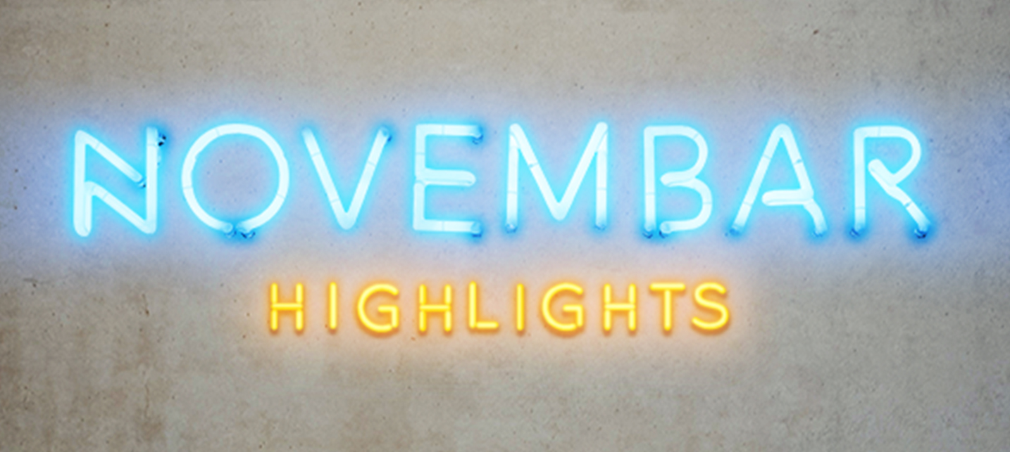Novembar Highlights // Group show